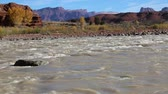 romance : Landscape with Colorado River - Utah Wideo