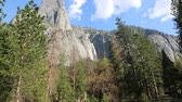 eroded : Landscape with Sentinel Falls, Yosemite NP