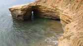 erodált : Natural arch in sunset cliffs, San Diego