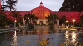botanický : Botanical building after sunset, San Diego