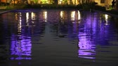 renk : Reflection in lily pond - San Diego