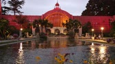 旅游 : Botanical building after sunset, Balboa Park, San Diego, California
