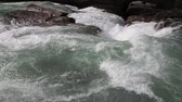 Pounding water - Yoho NP, Canada Stock Footage
