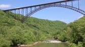 appalachian : Landscape with New River Gorge Bridge, West Virginia