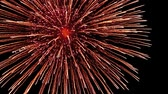 celebration : fireworks Stock Footage