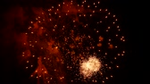 contínuo : the fireworks in the night sky