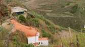 canárias : Cave house with orange roof on Gran Canaria Island