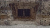 Ancient window of old building on Palma