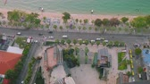 sin : Up view of Beach Road, bay, and Pattaya beach