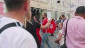 worldcup : Video blogger makes video about fans from Tunisia