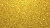 zaměřen : Golden glimmered seamless loop abstract motion background