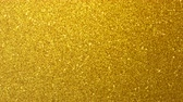 золотой : Golden glimmered seamless loop abstract motion background