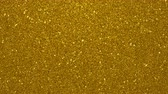 focused : Golden glimmered seamless loop abstract motion background