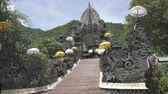 architectural : Temple Bali Indonesia, view in sunny day Stock Footage