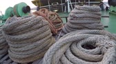 такелаж : Ship ropes on ferry