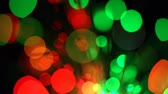 celebration : Blurred multicolored lights with bokeh, defocused motion abstract background