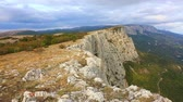 autumn : Beautiful autumn landscape with Foross rocks, the Crimea
