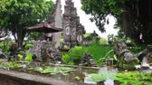telha : Fountains in the form of stone lions  traditional Buddhist culture to Bali