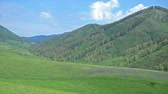csúcs : Green mountains in Altai, Russia