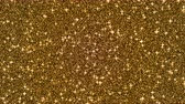zafferano : Gold beauty glitter glitter background, art video illustration. Filmati Stock