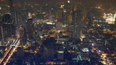 obyvatel : Night cityscape in Bangkok