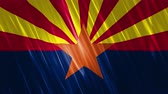 конгресс : Arizona State Loopable Flag, Ultra HD, 3840x2160 Pixels, Seamlessly Loopable Flag Animation Works with all Editing Programs Simply Loop it for any duration Стоковые видеозаписи