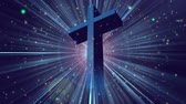 кресты : Divine Worship Cross 1, A Full HD, 1920x1080 Pixels, Seamlessly Loopable Animation,  High Quality Quicktime Loopable animation works with all Editing Programs,  Simply Loop it for any duration Стоковые видеозаписи