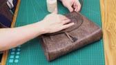 workshop bag making leather bag