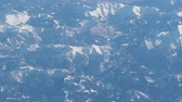 aerial panorama of alps
