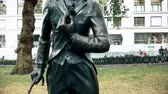 compositor : Statue of Charlie Chaplin