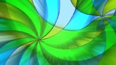 yellow : Swirling green, blue and yellow abstract background