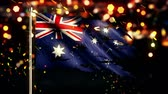 esfarrapado : Australia Flag Torn Burned War Freedom Loop Animation - 4K Resolution Ultra HD UHD