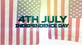 united states : 4th July Independence Day Animation 3D 4K Resolution