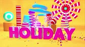 Holiday Motion Graphics PlayGround 3D