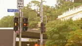 Pedestrian and Bicycle Traffic Light Brisbane City