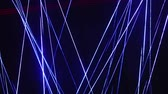 projeksiyon : Color laser lighting beam show effects