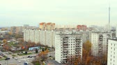 人 : Panorama of Moscow. Ostankino. Aerial view