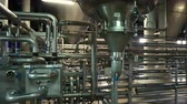 нержавеющий : Moscow, Russian Federation - October 19, 2017: Brewing production - fermentation department