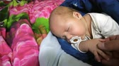 pezon : Newborn baby boy is sleeping