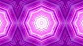 arabesco : Purple Kaleidoscope Background. Animated Seamless Looping Motion Design.