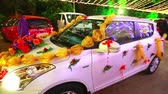 marry : Decorate on a wedding car