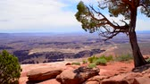 sal : Grand View Point Overlook Canyonlands National Park Utah