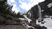 montanha : Bridal Veil Falls box canyon near Telluride Colorado