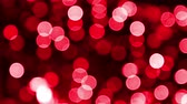 blur : Red Bokeh background footage Stock Footage