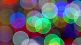 blur : Colorful Bokeh background footage Stock Footage