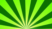 movimentar se : Rotating Stripes Background Animation  Loop Green
