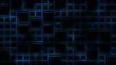 array : Abstract Tiled Background and Light Animation - Loop Blue