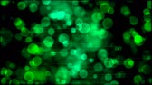 teal : Abstract Particle Background Animation - Loop Green