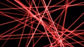 carmesim : Crossing Lines, Cuts and Slices Animation - Loop Red Vídeos