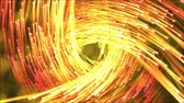 creative : Travel Through Vortex Beams Animation - Loop Fiery Orange Stock Footage